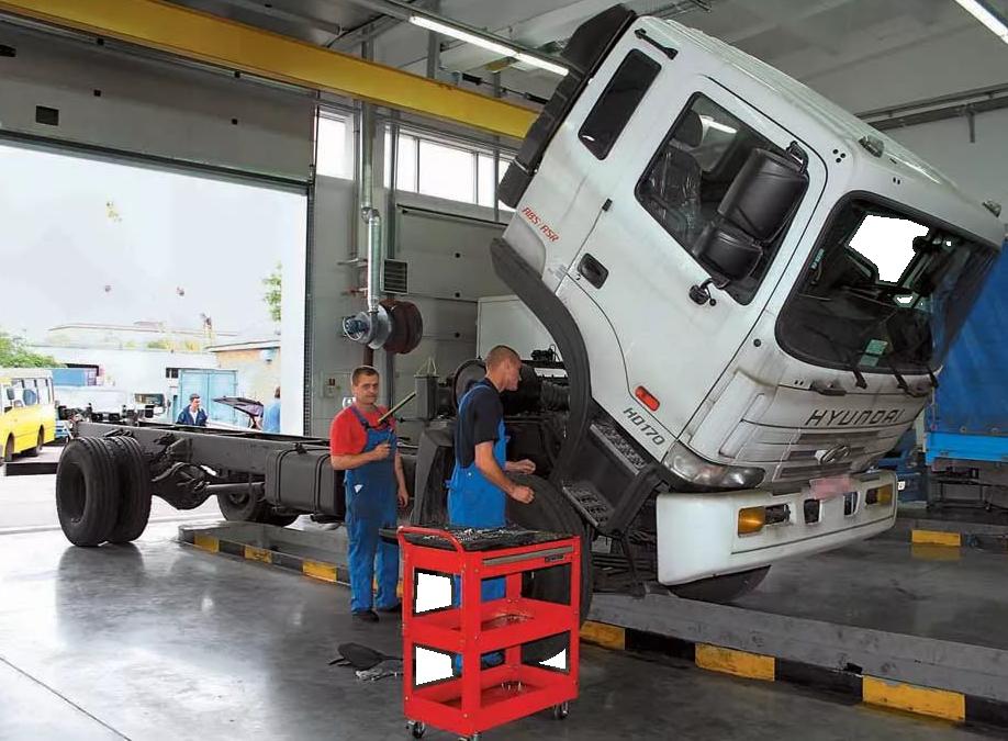 Услуги ТО для грузовой техники