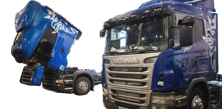 Ремонтируем грузовики скания